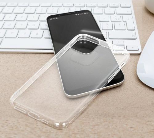 Silikonové pouzdro Forcell AntiBacterial pro Samsung Galaxy A51, transparentní