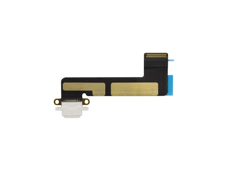 Nabíjecí Konektor + Flex Kabel White pro Apple iPad Mini 2