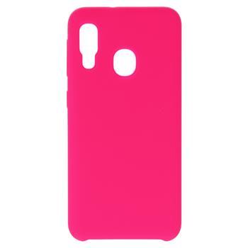 Silikonové pouzdro Swissten Liquid pro Samsung Galaxy A21s, sytě růžová