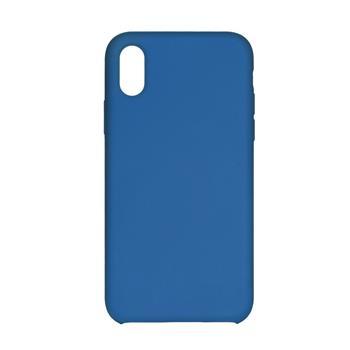 Silikonové pouzdro Swissten Liquid pro Samsung Galaxy A21s, modrá