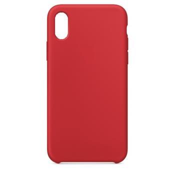 Silikonové pouzdro Swissten Liquid pro Samsung Galaxy A21s, červená