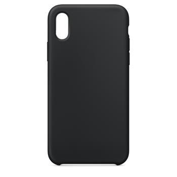 Silikonové pouzdro Swissten Liquid pro Samsung Galaxy A21s, černá