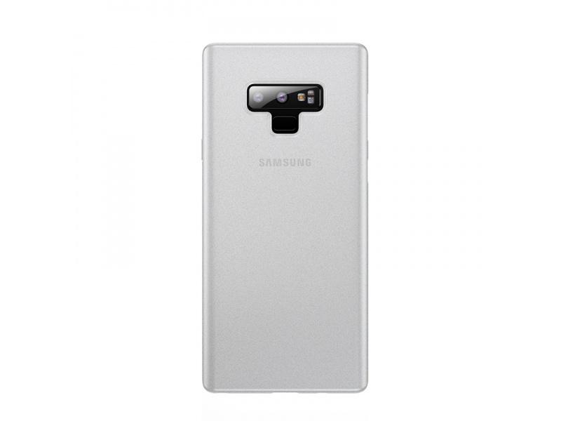 Baseus Wing silikonový kryt, pouzdro, obal na Samsung Galaxy Note9 transparent white