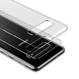 Silikonové pouzdro Baseus Simple Case pro Huawei Mate 20 Pro, transparentní