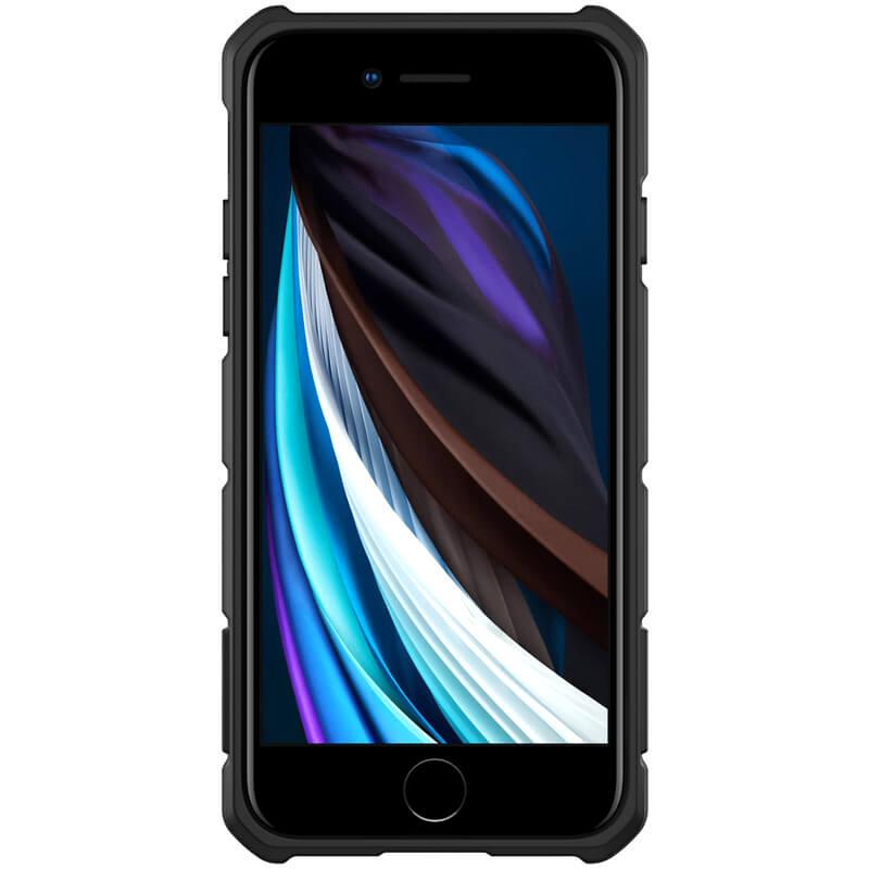 Zadní kryt Nillkin CamShield Armor pro Apple iPhone 7/8/SE 2020, černá
