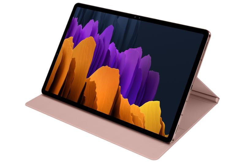 Samsung flipové pouzdro F-BT970PAE pro Galaxy Tab S7+ cooper brown