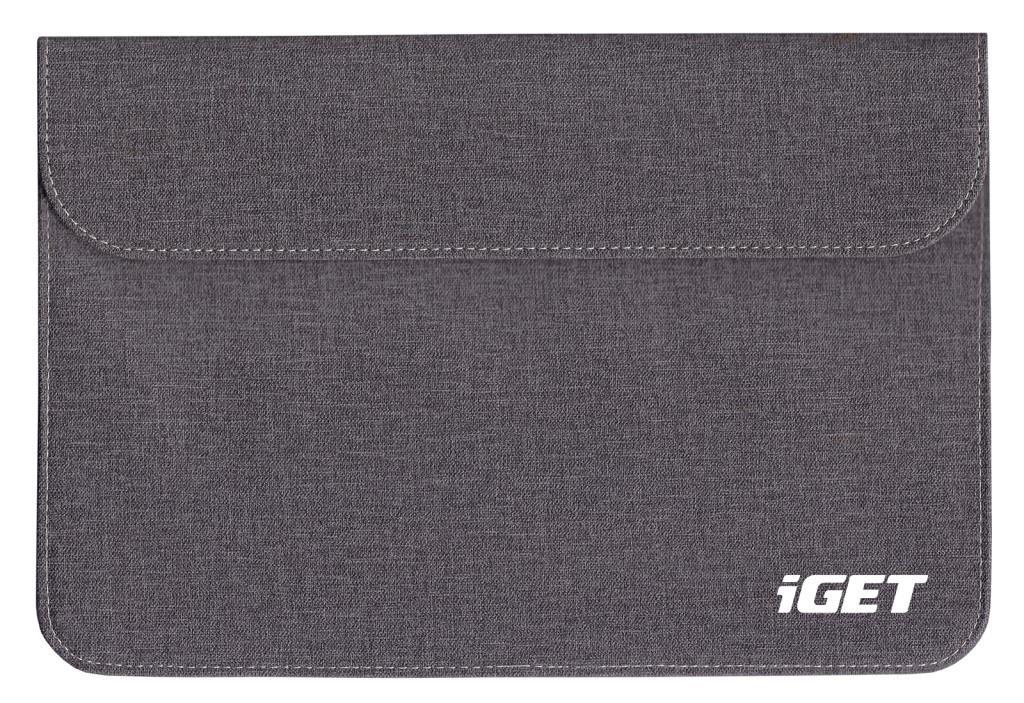 """iGET iC10 univerzální pouzdro pro tablety do 10.1"""" dark grey"""