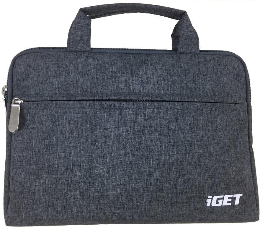 """iGET iB10 univerzální pouzdro - brašna pro tablety 10.1"""" dark grey"""
