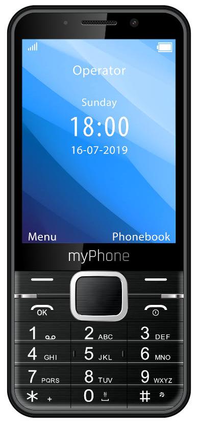 myPhone Up černá