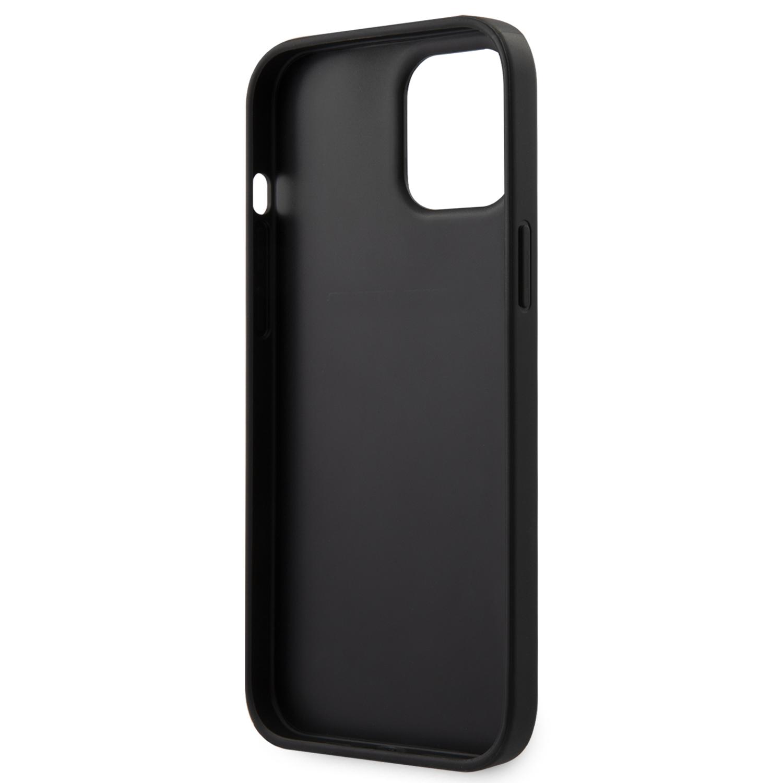 Karl Lagerfeld Saffiano K&C Heads kryt KLHCP12LSAKICKCBK Apple iPhone 12 Pro Max black