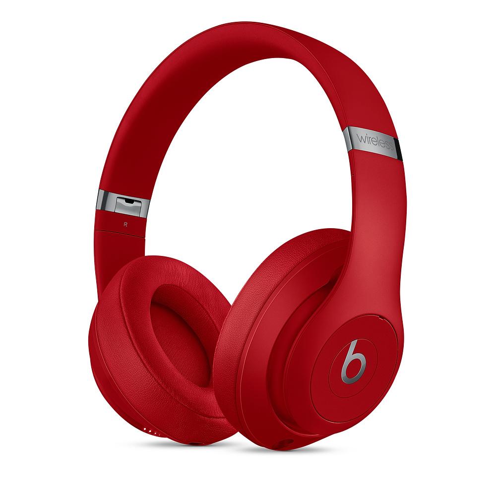 Sluchátka Beats Studio3 Wireless Headphones, červená