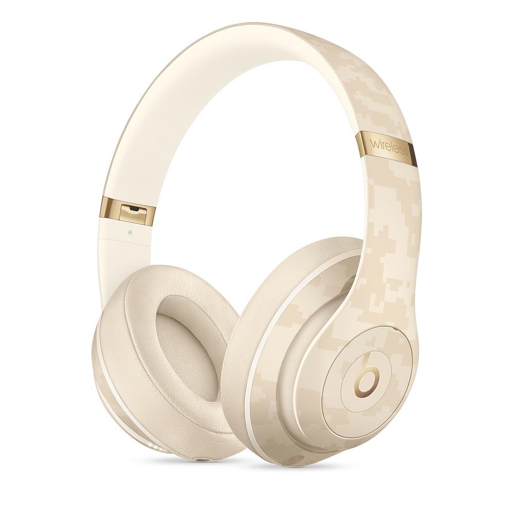 Sluchátka Beats Studio3 WL Headphones BCC, zlatá