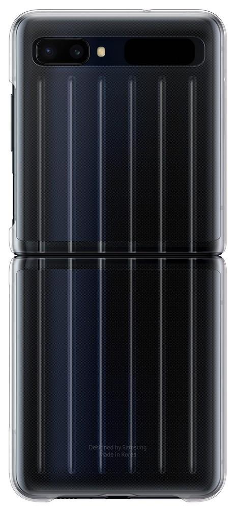 Samsung zadní kryt EF-QF707CT pro Samsung Galaxy Z Flip 5G clear