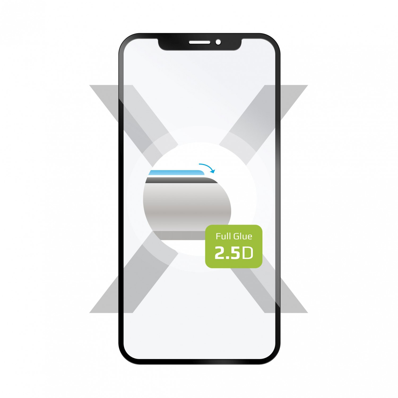 Tvrzené sklo FIXED Full-Cover pro Motorola Moto G8 Plus black