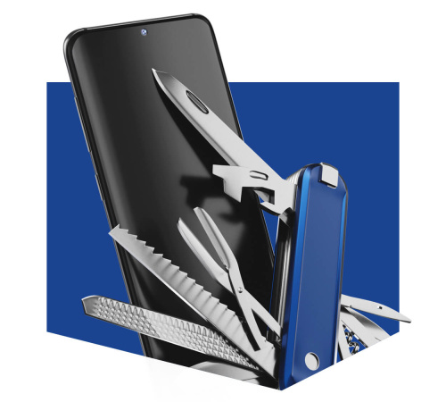 Ochranná antimikrobiální 3mk folie Silver Protection+ pro Sony Xperia 10 II