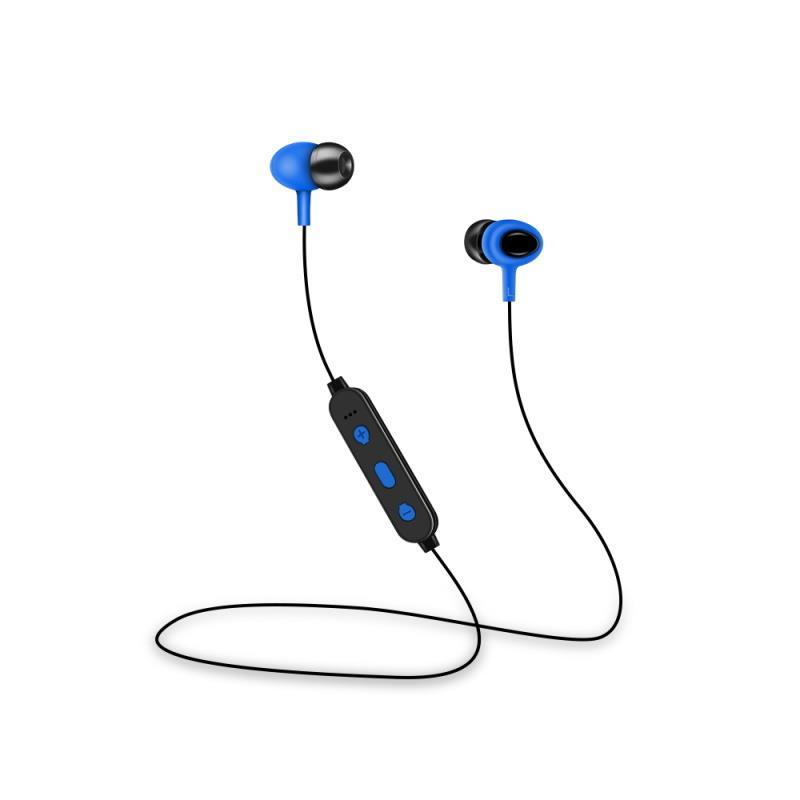 Bezdrátová Bluetooth sluchátka Setty Sport, modrá