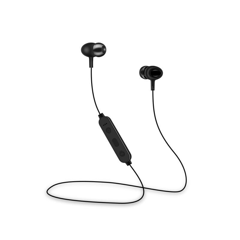 Bezdrátová Bluetooth sluchátka Setty Sport, černá