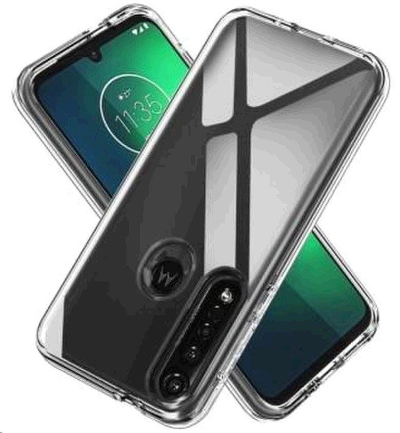 Originální silikonový kryt Motorola Moto G9 Plus transparent