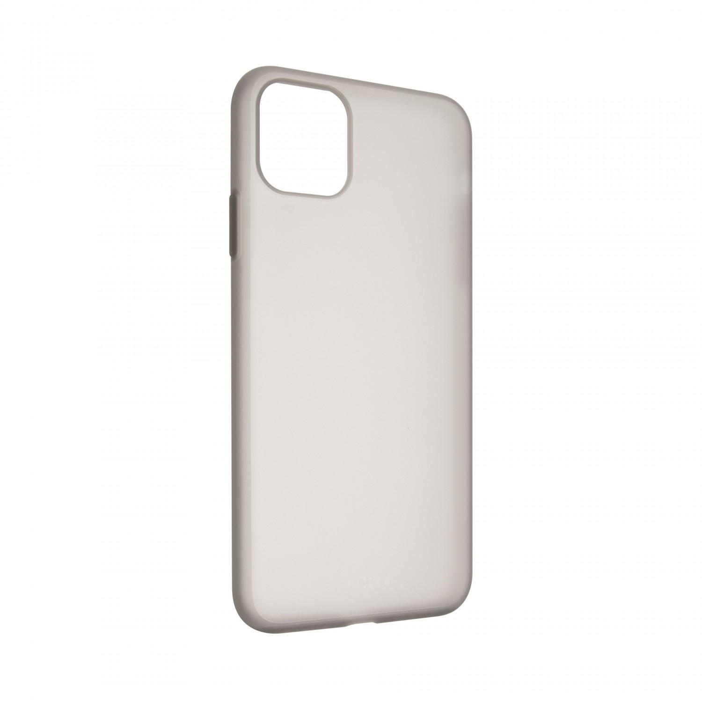 FIXED Flow Zadní kryt, pouzdro, obal Apple iPhone 12 mini, kouřový