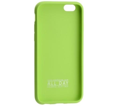 Kryt ochranný Roar Colorful Jelly pro Samsung Galaxy A51 (SM-A515), limetková