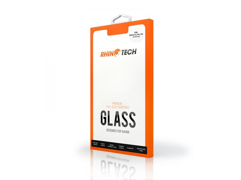 RhinoTech 2 tvrzené ochranné sklo 2.5D pro Xiaomi Redmi 9A/9C (Full Glue), černá