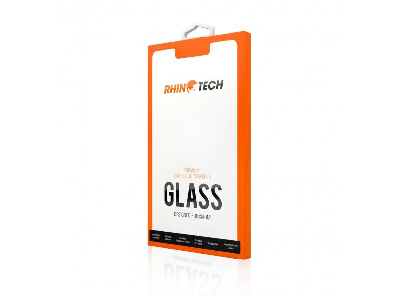 RhinoTech 2 tvrzené ochranné sklo 2.5D pro Xiaomi Redmi Note 9 Pro (Full Glue), černá