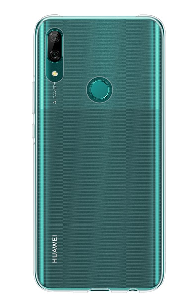 Huawei Original silikonový kryt, pouzdro, obal Huawei P smart 2021 transparent