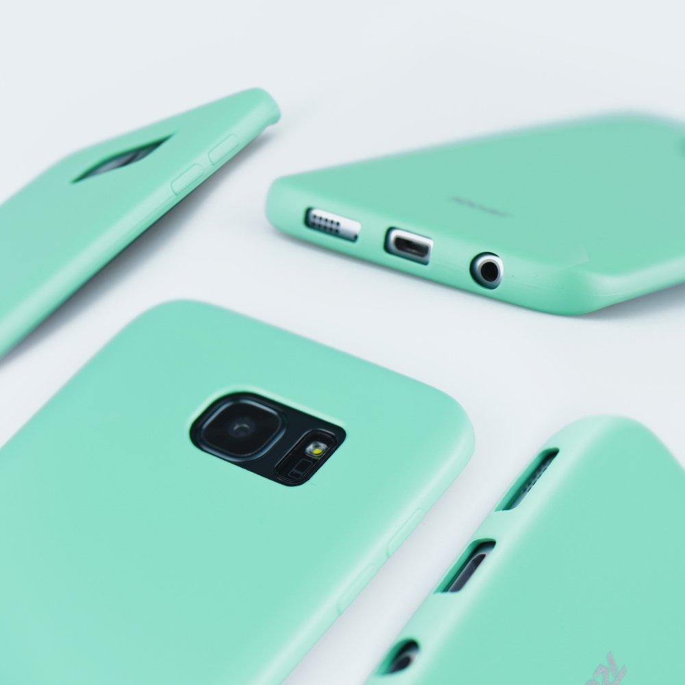 Kryt ochranný Roar Colorful Jelly pro Xiaomi Redmi Note 9, mátová