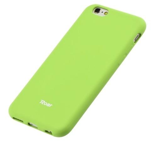 Kryt ochranný Roar Colorful Jelly pro Xiaomi Redmi Note 9, limetková
