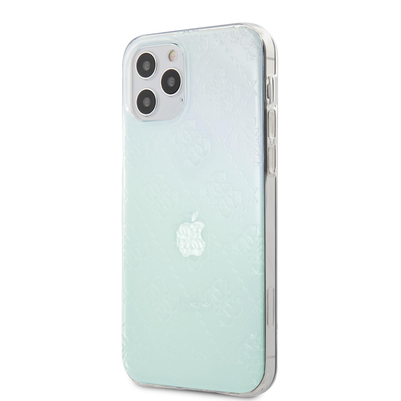 Guess 3D Raised zadní kryt GUHCP12L3D4GIRBL Apple iPhone 12 Pro Max iridescent