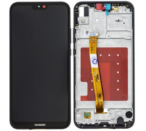 LCD + dotyk + rámeček pro Huawei P20 Lite, black