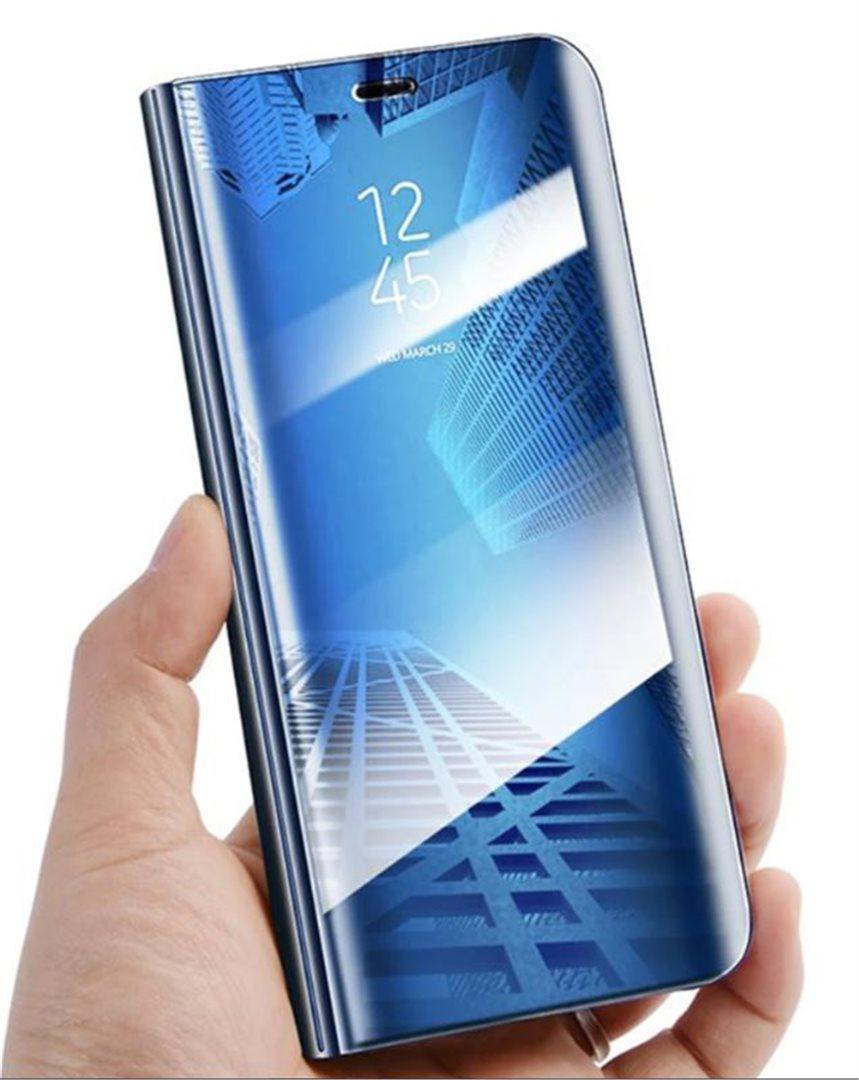 Cu-Be Clear View flipové pouzdro, obal, kryt Samsung Galaxy J3 2016 blue
