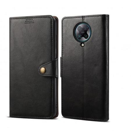 Lenuo Leather flipové pouzdro na Xiaomi Poco X3 black