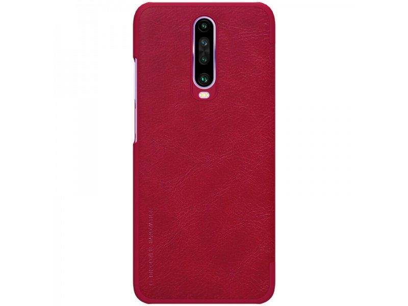 Nillkin Qin flipové pouzdro Xiaomi Redmi K30 / K30 5G / Xiaomi POCO X2 red Xiaomi Redmi K30 / K30 5G / Xiaomi POCO X2 Red