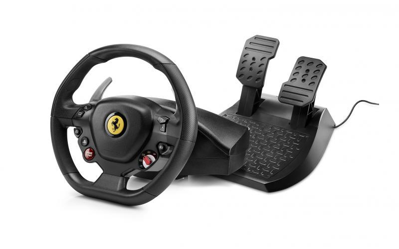 Thrustmaster T80 Ferrari 488 GTB Edition / Sada volantu a pedálů / pro PS4 a PC (4160672)