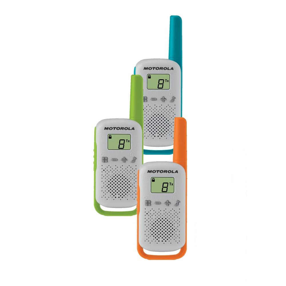Motorola TLKR T42 - sada vysílaček (3ks)