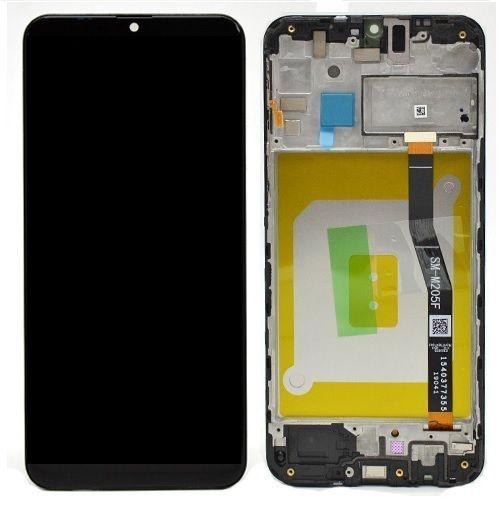 LCD + dotyková deska pro Samsung Galaxy M31s, black ( Service Pack)