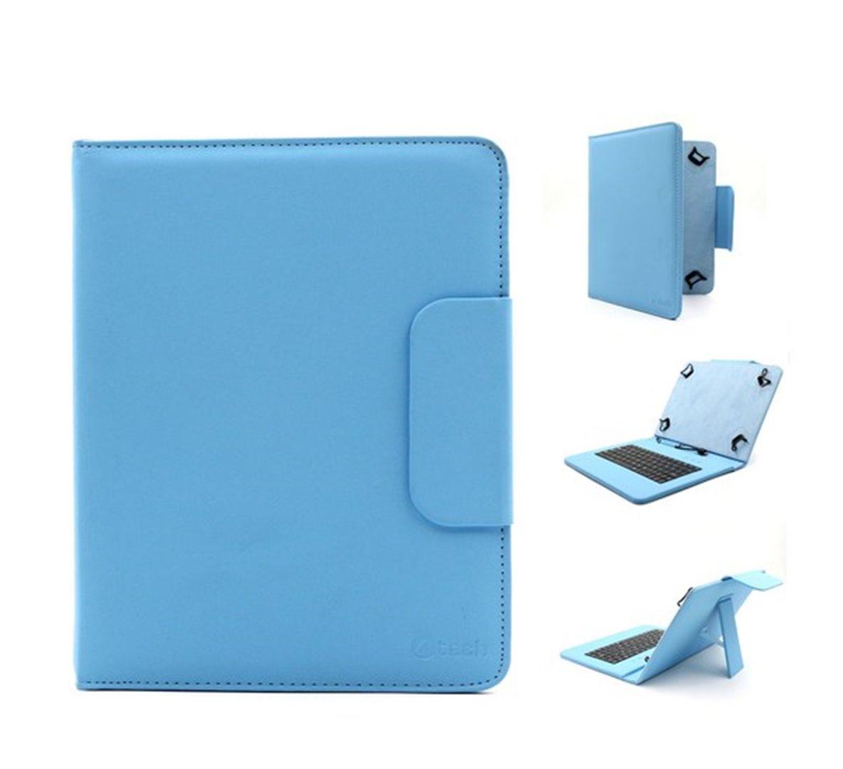"""C-TECH univerzální pouzdro, obal, kryt s klávesnicí 9.7-10.1"""" blue"""