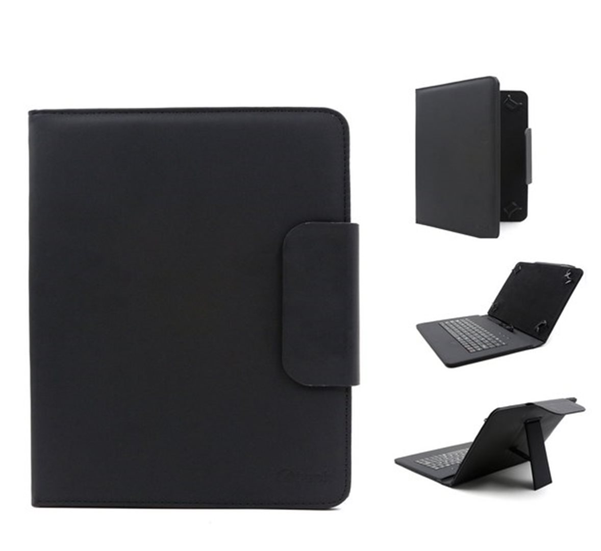 """C-TECH univerzální pouzdro, obal, kryt s klávesnicí 9.7-10.1"""" black"""