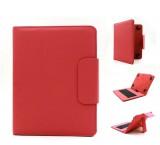 """C-TECH univerzální pouzdro, obal, kryt s klávesnicí pro 8"""" tablety red"""