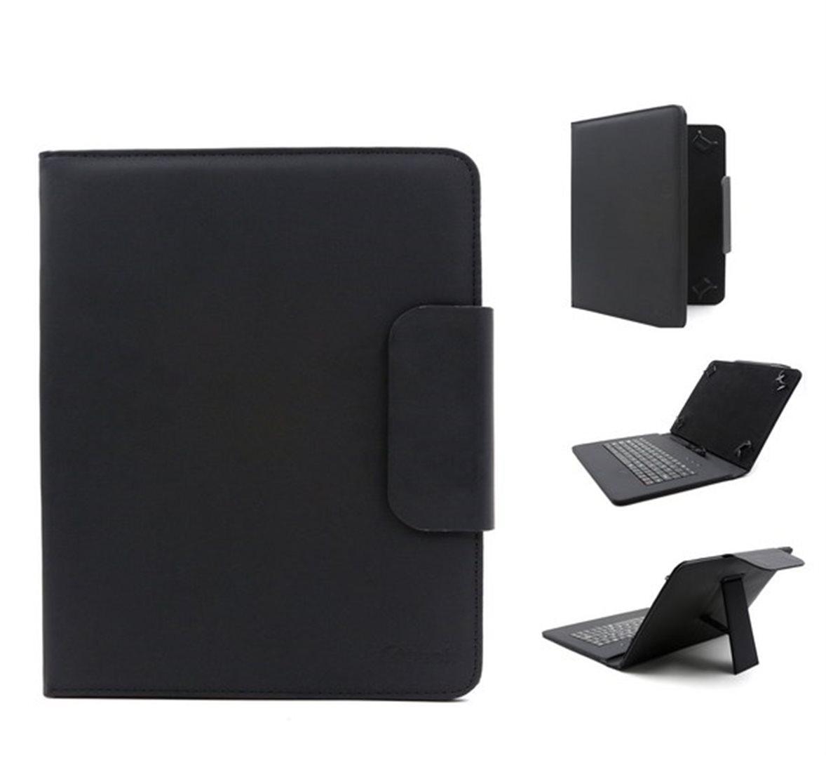 """C-TECH univerzální pouzdro s klávesnicí pro 7""""-7.85"""" tablety black"""