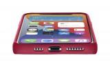 Cellularline Sensation silikonový kryt, pouzdro, obal Apple iPhone 12 mini red