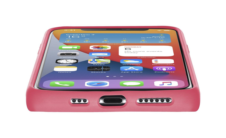 Cellularline Sensation silikonový kryt, pouzdro, obal, kryt Apple iPhone 12 mini orange