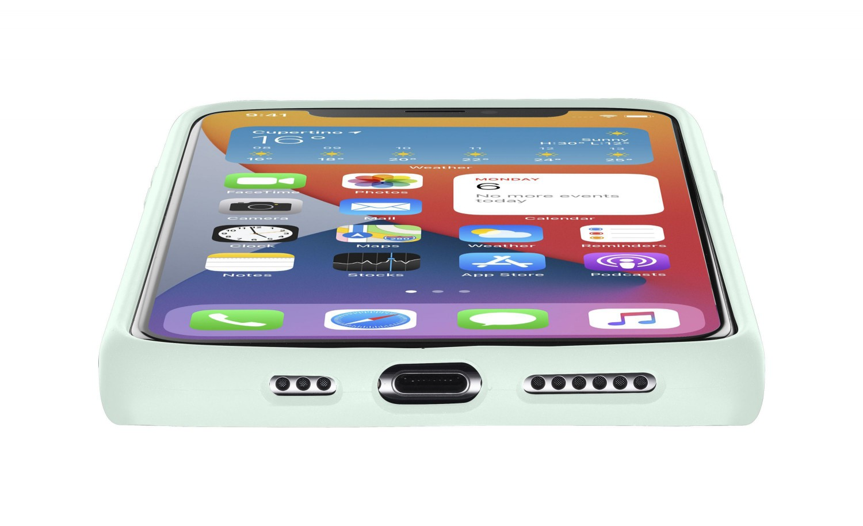 Cellularline Sensation silikonový kryt, pouzdro, obal Apple iPhone 12/12 Pro green
