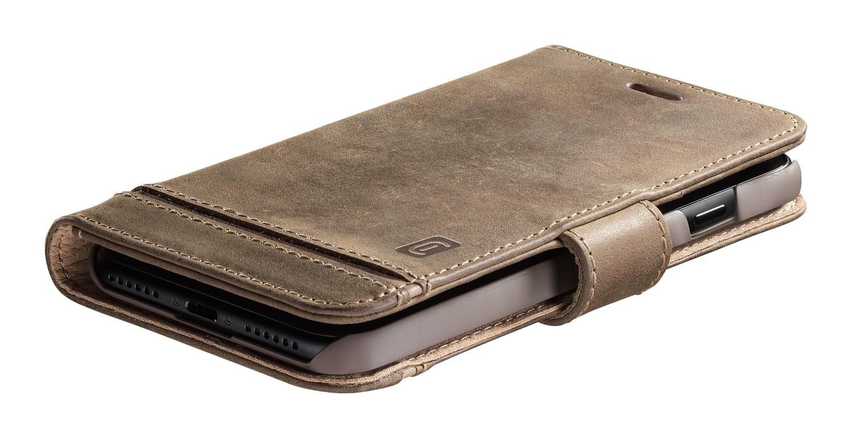 Cellularline Supreme flipové pouzdro, obal, kryt Apple iPhone 12 mini brown