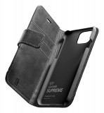 Cellularline Supreme flipové pouzdro, obal, kryt Apple iPhone 12 mini black