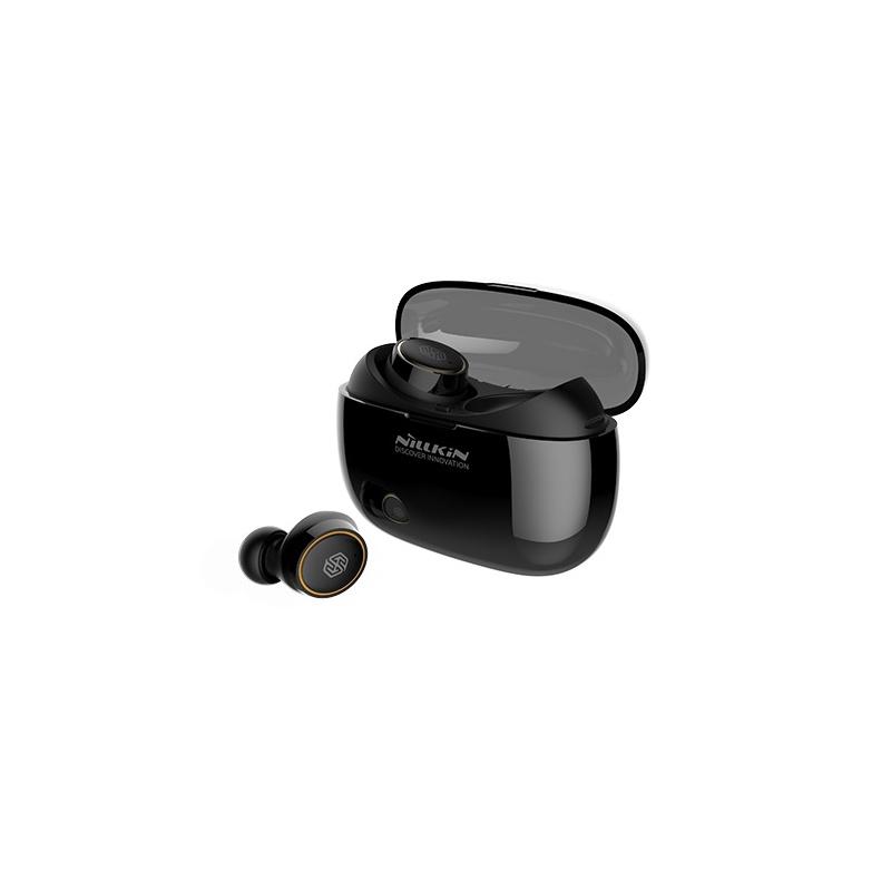 Bezdrátová sluchátka Nillkin Liberty E1, černo / zlatá