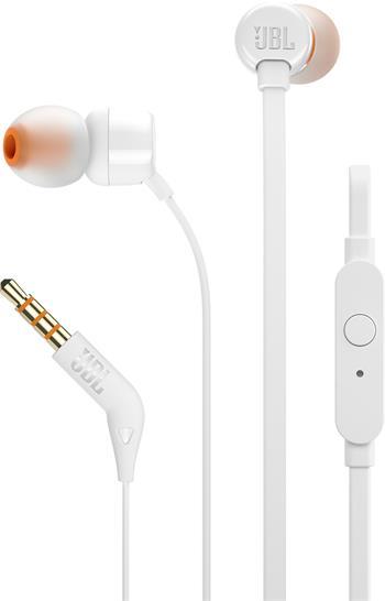 JBL T110 In-Ear Headset 3,5mm jack white