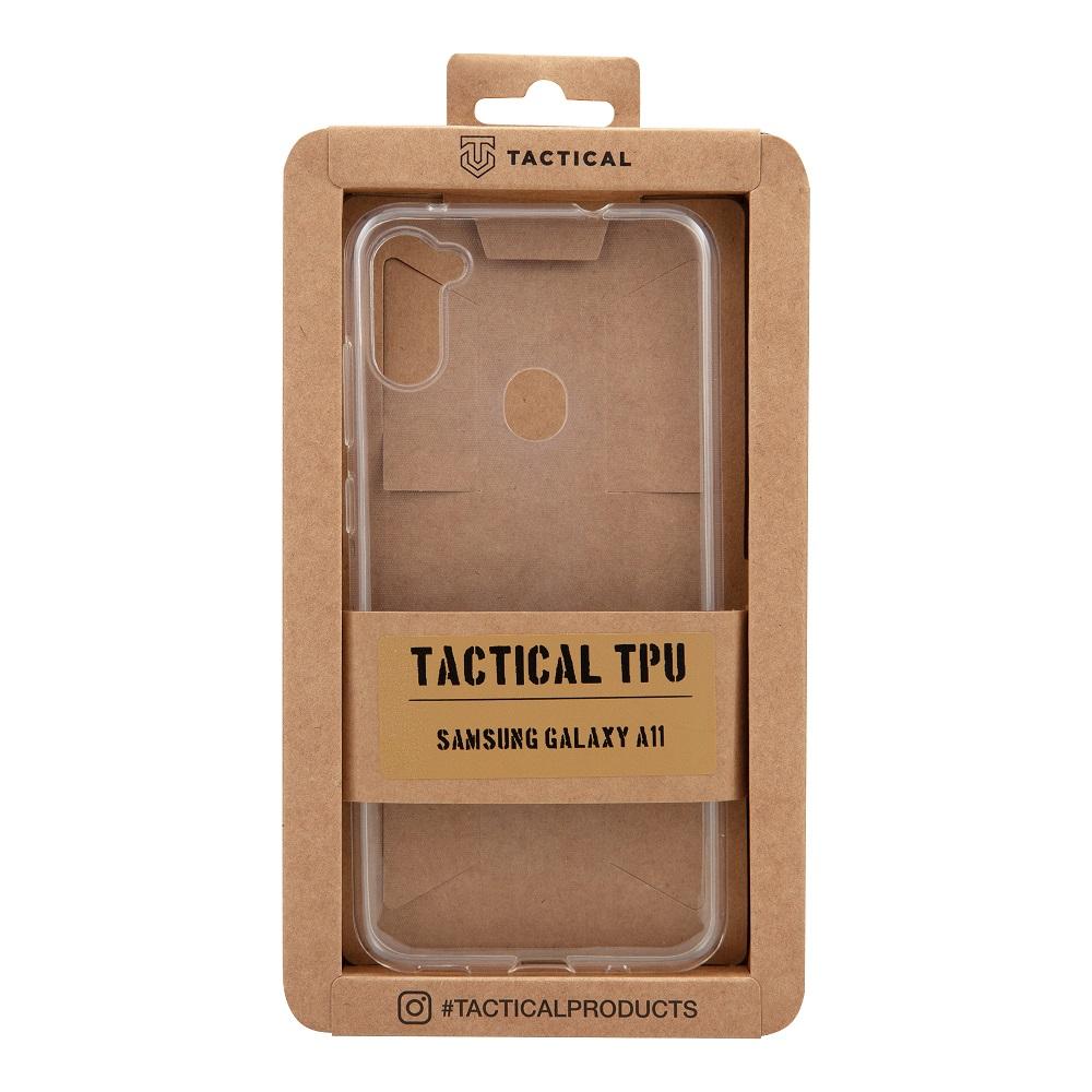 Tactical silikonové pouzdro, obal, kryt Samsung Galaxy M11/A11 transparent