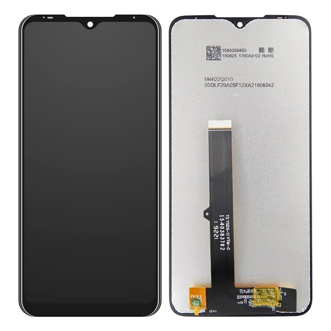 LCD + dotyková deska pro Motorola Edge Plus, black